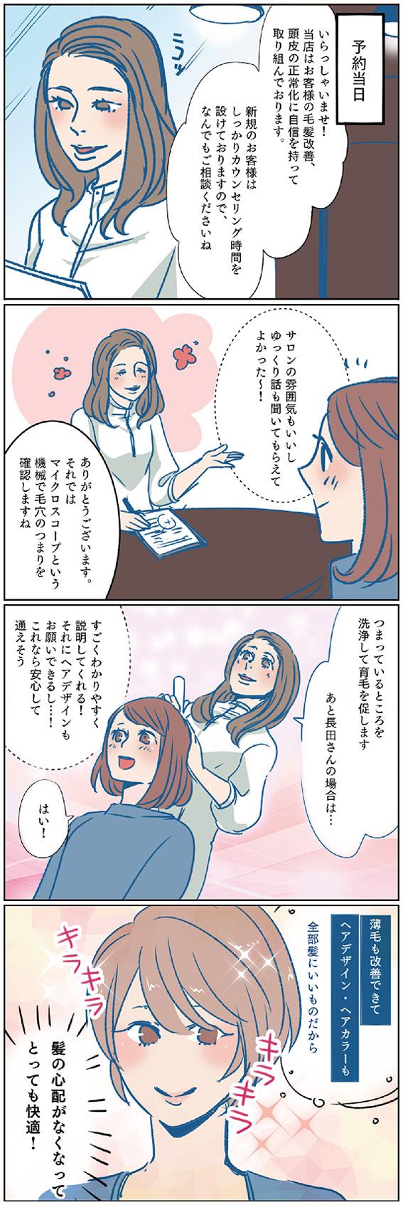 発毛漫画3